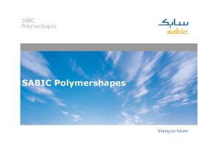 Who is SABIC Polymershapes?