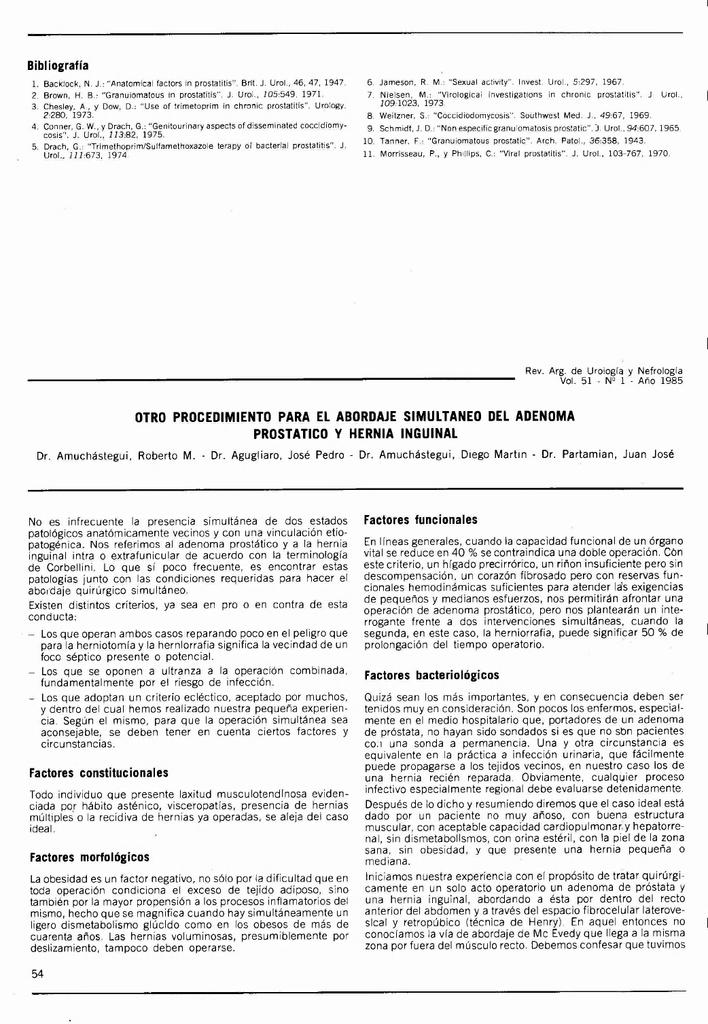 la hernia puede dar prostatitis