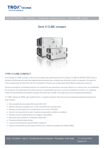 Serie X-CUBE compact