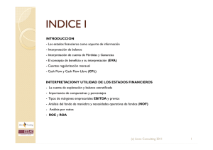 INDICE I - Lince Consulting