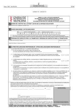 Anexo ii certificado for Oficina 9383 la caixa