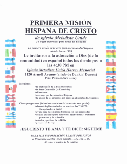 primera mision - harvey memorial umc