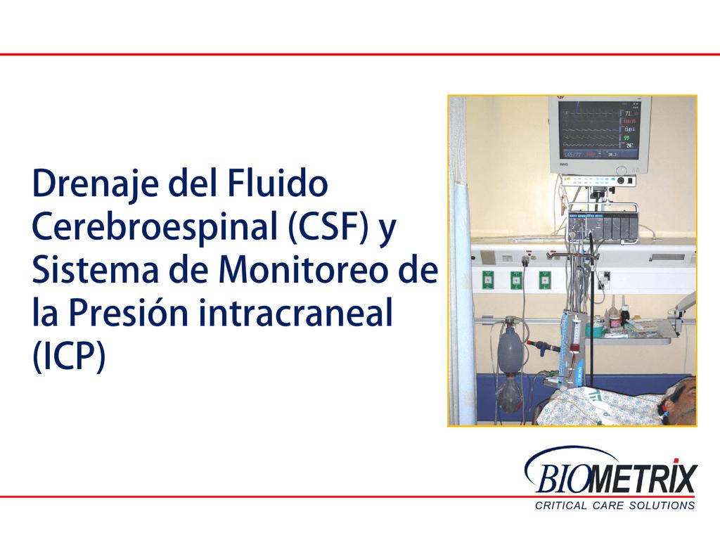 Presión de fluido csf normal