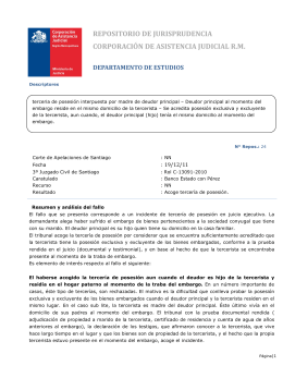 Jurisprudencia Civil - Repositorio N°24