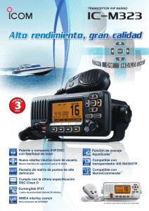 IC-M323 - Icom Spain SL