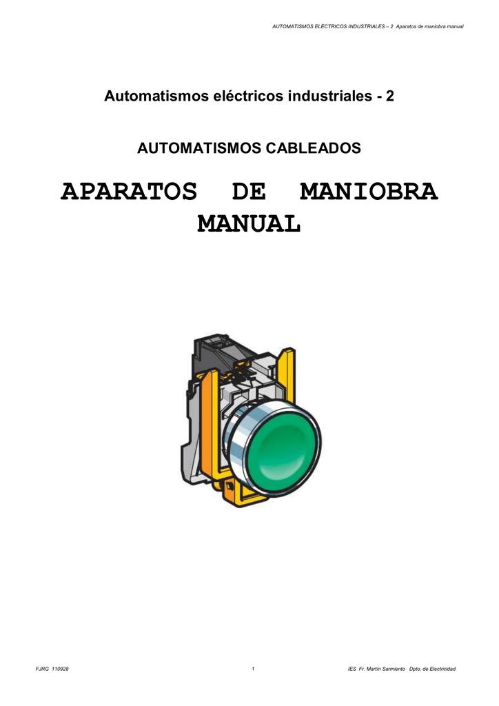 Aparatos de maniobra manual