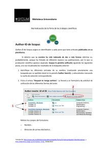 Author-ID de Scopus