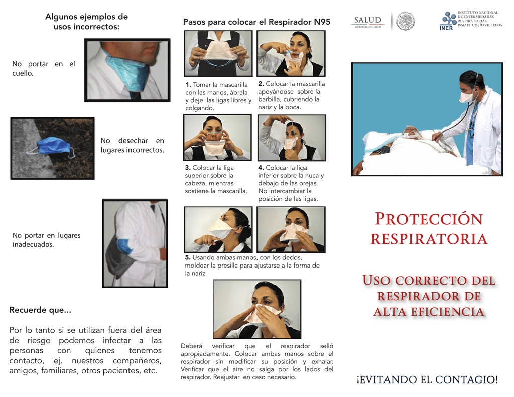 Respirador N95 Uso {Canarias Deportiva}