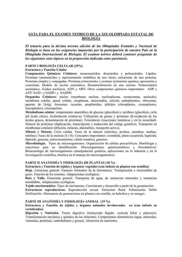 Único Anatomía Y Fisiología De La Ciencia Olimpiada Modelo ...
