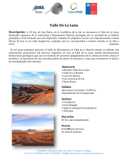Valle De La Luna - Travel Adventure Chile