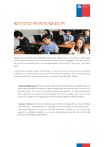 institutos profesionales (ip)