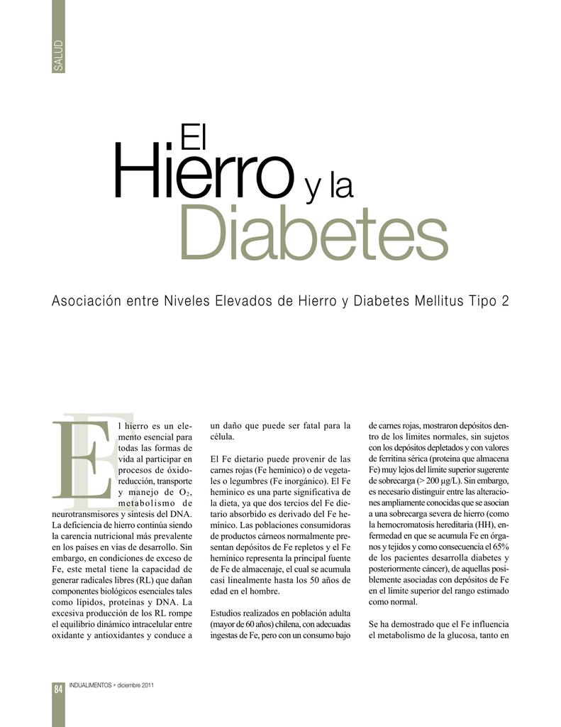todas las formas de diabetes