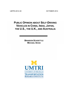 public opinion about self-driving vehicles in china, india, japan, the