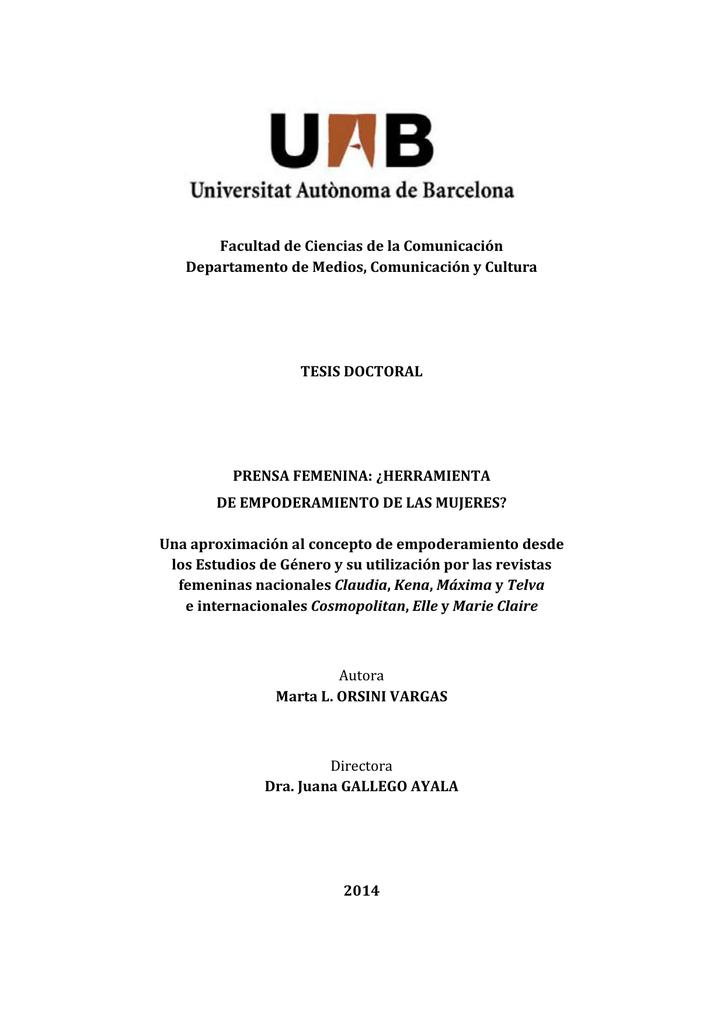 108bab6eb350 Facultad de Ciencias de la Comunicación Departamento de