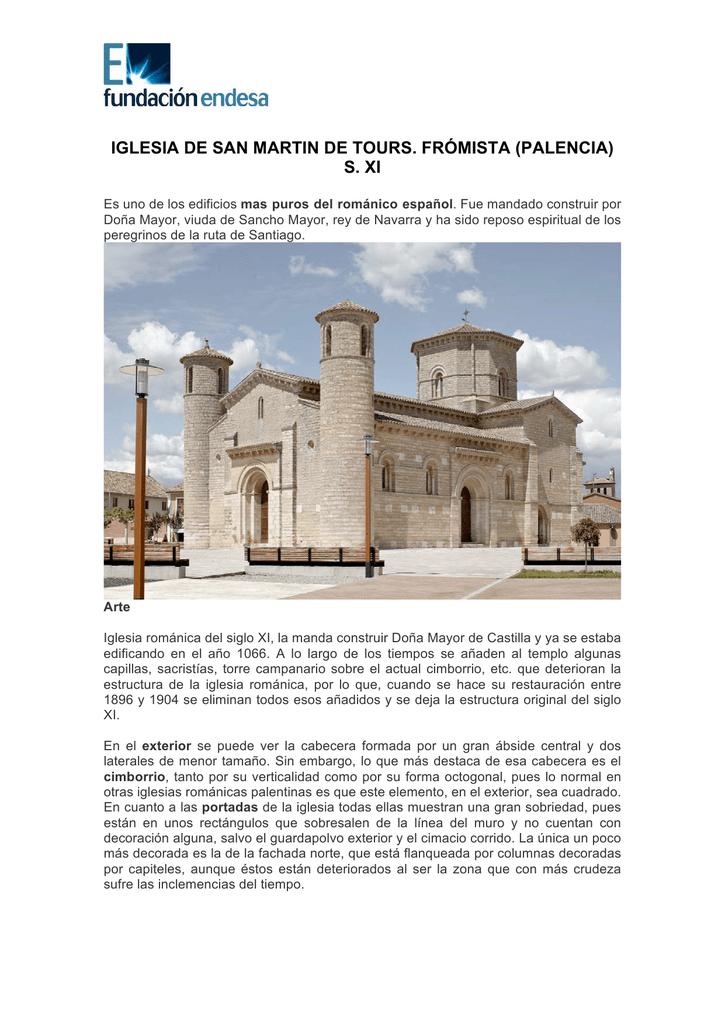 Iglesia De San Martin De Tours Fromista Palencia