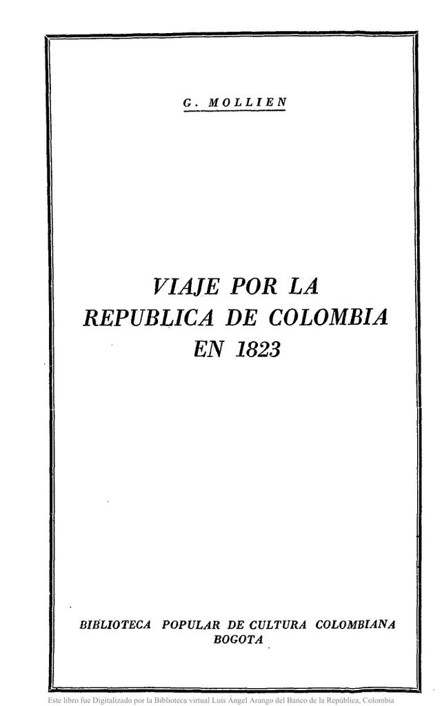 viaje.por la ~ republica de colombia