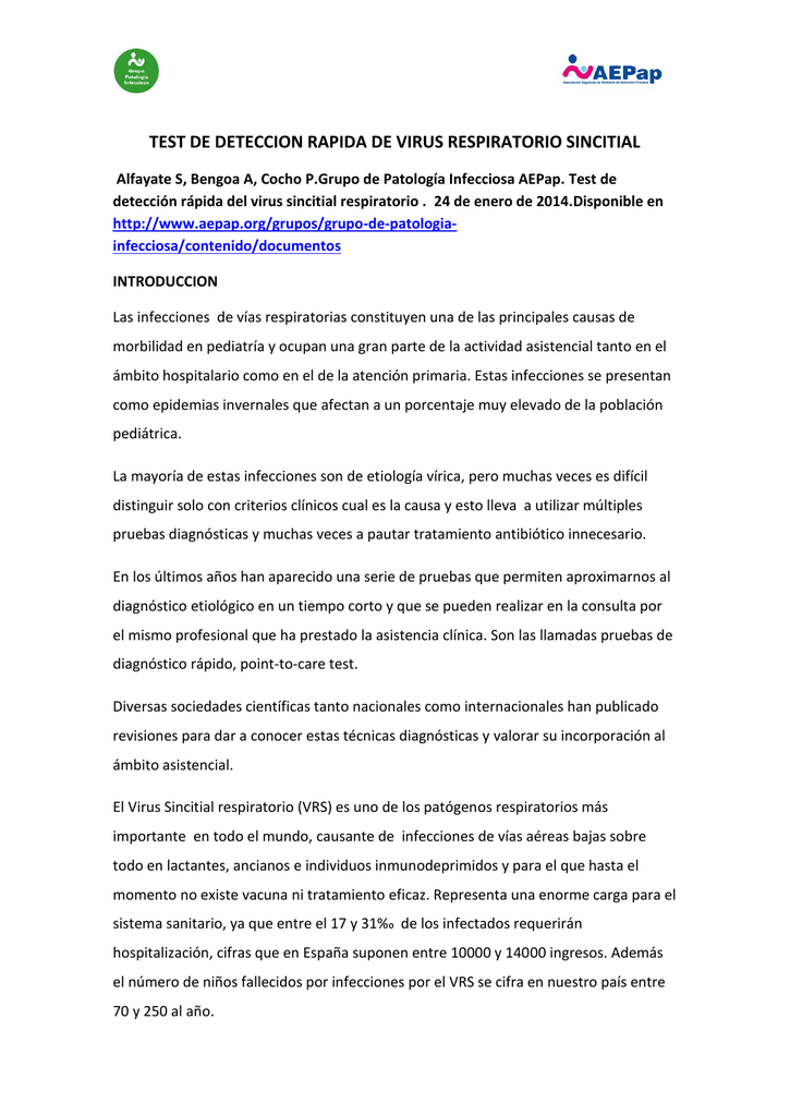 Virus sincitial respiratorio pdf