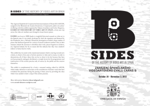 OF THE HISTORY OF VIDEO ART IN SPAIN