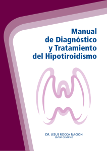 Manual Diagnostico y Tratamiento del Hipotiroidismo