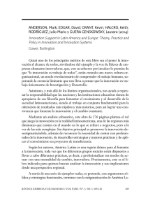 Innovation Support in Latin America and Europe: Theory, Practice