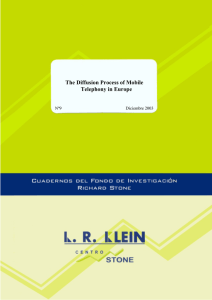 The Diffusion Process of Mobile Telephony in Europe