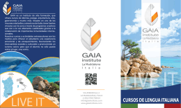 GAIA Italian program_esp
