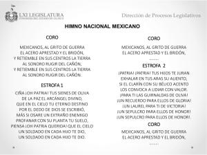 Del himno nacional mexicano significado