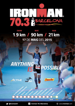 INFORMATION IRONMAN BCN 70.3