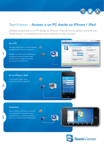 TeamViewer – Acceso a un PC desde su iPhone / iPad
