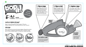 Bop It Clásico Instructions