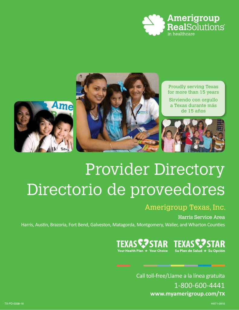 Provider Directory Directorio de proveedores