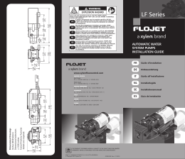 LF Series - Xylem Flow Control