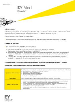 Buenas pr cticas de manufactura en la industria de alimentos Manual de buenas practicas de manufactura pdf