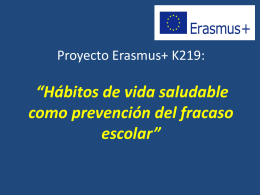 ERASMUS+ KA219: Prevention of School Failure related to bad