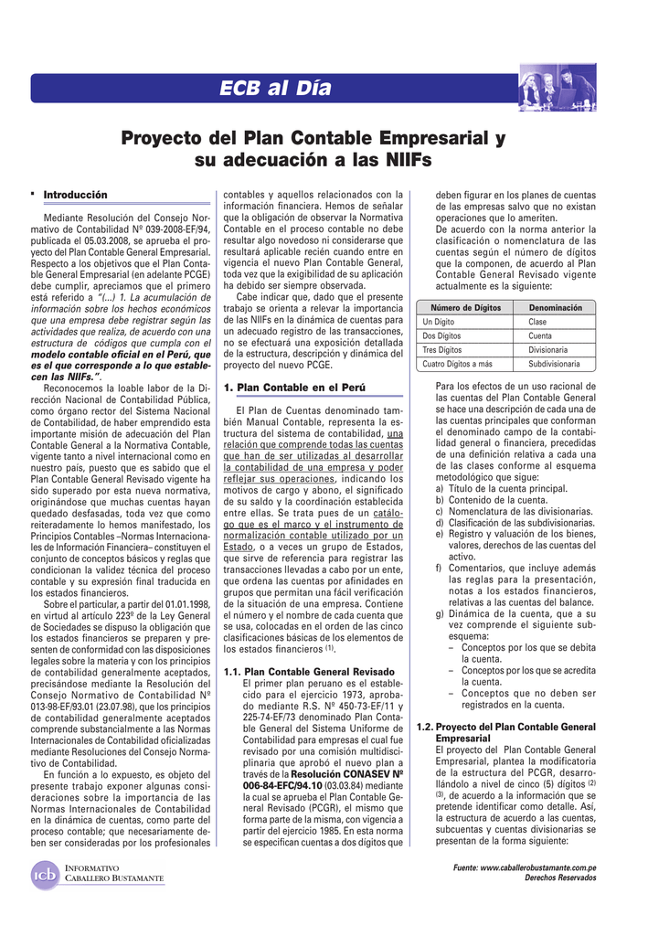 Ver Informe Contable Informativo Caballero Bustamante