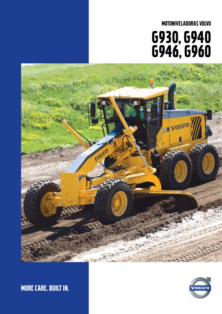 G930, G940 G946, G960 - Volvo Construction Equipment