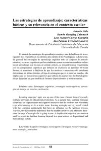 estrategias y tecnicas de estudio ramon gonzalez cabanach pdf