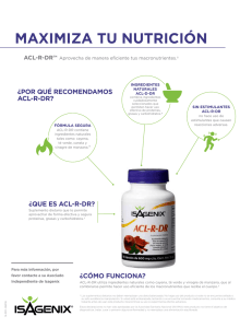 ACL-R-DR - Isagenix