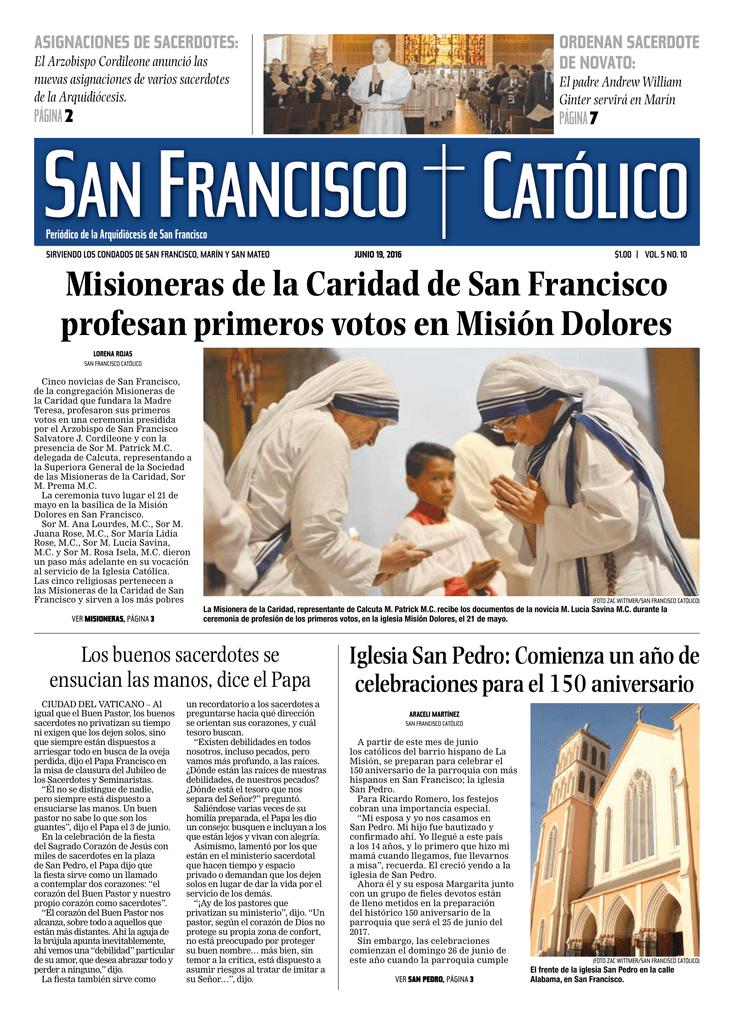 Misioneras de la Caridad de San Francisco profesan primeros votos