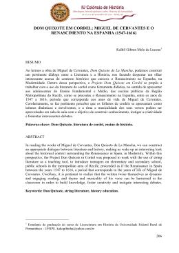 Historiografia das tradues do quixote publicadas no brasil fandeluxe Gallery