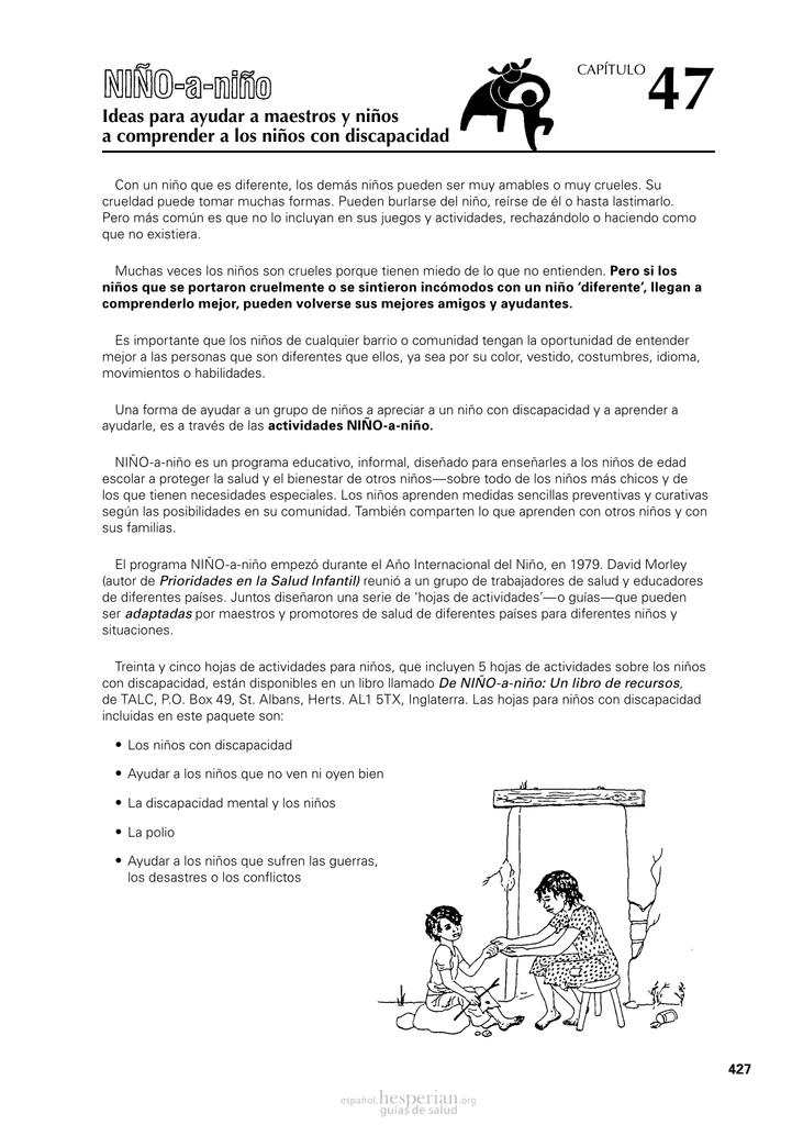 Ideas para ayudar a maestros y niños a comprender a los niños con