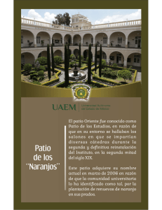 "Patio de los ""Naranjos"""