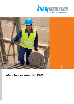 Mantas armadas WM - Knauf Insulation
