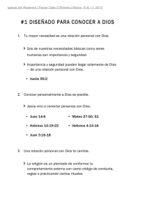 1 You Were Made To Know (Spanish Handout)