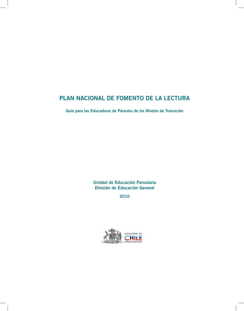 Plan Nacional De Fomento De La Lectura Plataforma E