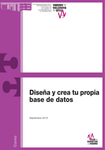 Crear base de datos - Club de Marketing de Navarra