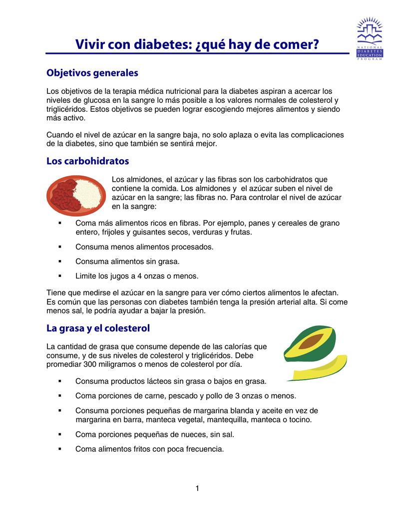 números de jugos para la diabetes y colesterol