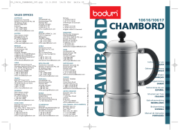 chambord - Seattle Coffee Gear