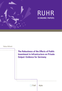 The Robustness of the Effects of Public Investment in