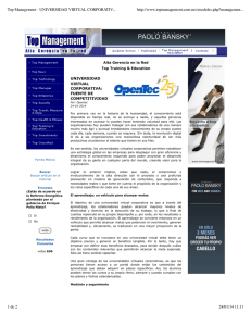 Top Management - UNIVERSIDAD VIRTUAL